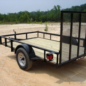Trailer, 5' X 10' Flatbed
